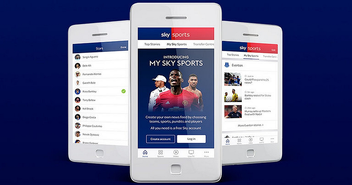 Watch Premier League on Smartphone and Tablet
